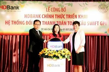 HDBank triển khai Dịch vụ truy vấn thanh toán toàn cầu Swift GPI