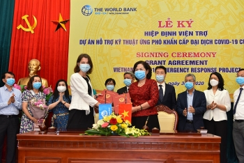 Ngân hàng Thế giới hỗ trợ Việt Nam hơn 6,2 triệu USD ứng phó khẩn cấp Covid-19