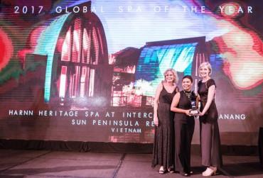 HARNN Heritage Spa đạt 'cú đúp' thương hiệu tốt nhất thế giới