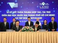 Tập đoàn Novaland trao tặng 10 tỷ đồng cho Quỹ phát triển Đại học Quốc gia TP.HCM