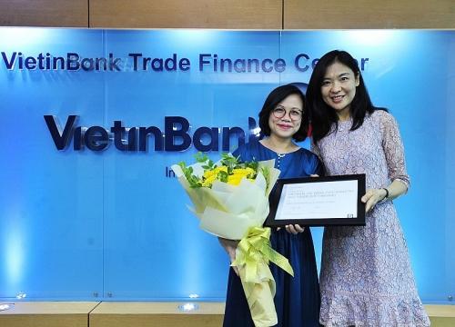 VietinBank: Ngân hàng có chất lượng thanh toán quốc tế xuất sắc