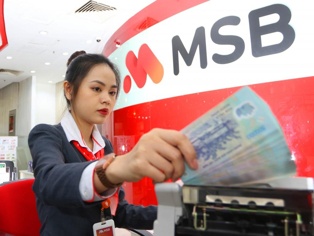 6 tháng đầu năm, lợi nhuận trước thuế MSB đạt trên 970 tỷ đồng