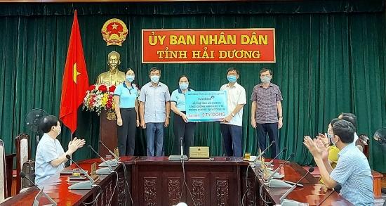 VietinBank ủng hộ tỉnh Hải Dương 5 tỷ đồng phòng, chống dịch Covid-19