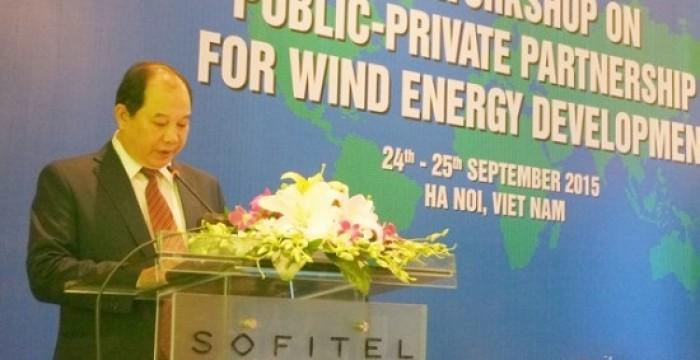 Việt Nam sẽ thúc đẩy phát triển năng lượng gió