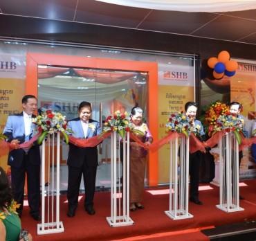 SHB chính thức mở ngân hàng 100% vốn tại Campuchia