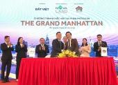 Công bố đại lý phân phối dự án The Grand Manhattan