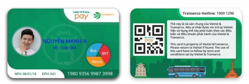 Thí điểm hệ thống vé điện tử trên tuyến buýt nhanh BRT