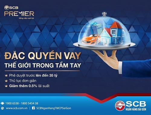 SCB triển khai sản phẩm vay cho khách hàng Premier