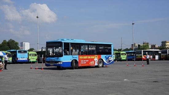 Thi đua nâng cao chất lượng phục vụ xe buýt