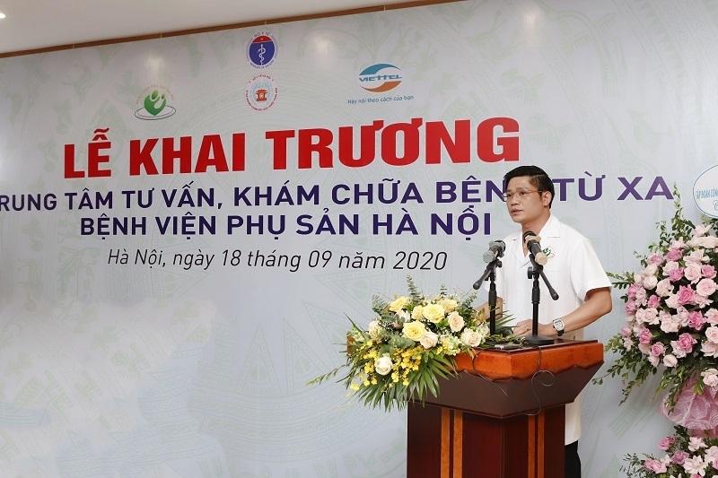 Kích hoạt Trung tâm tư vấn, khám chữa bệnh từ xa tại Bệnh viện Phụ sản Hà Nội