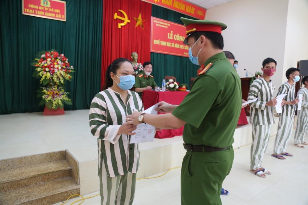 Hà Nội: Công bố quyết định đặc xá năm 2021
