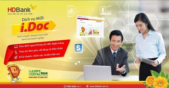 Đơn giản hóa chuyển chứng từ giao dịch với HDBank I.Doc