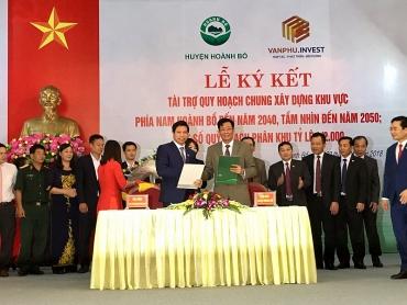 Văn Phú – Invest tài trợ quy hoạch xây dựng khu vực phía nam Hoành Bồ (Quảng Ninh)