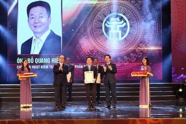 Ông Đỗ Quang Hiển được vinh danh Công dân Thủ đô ưu tú
