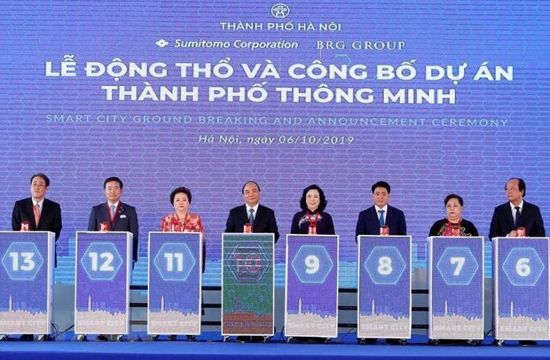 chinh thuc dong tho du an thanh pho thong minh