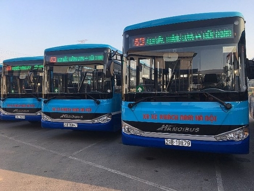 Không ngừng nâng cao chất lượng dịch vụ xe buýt Thủ đô