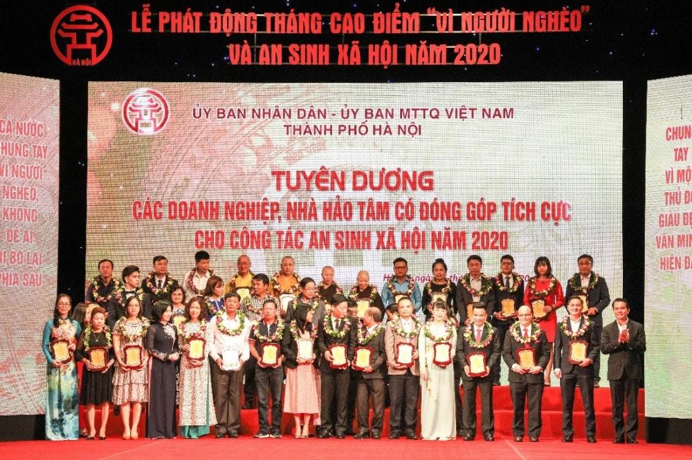 TNG Holdings VietNam đồng hành cùng nhiều hoạt động an sinh xã hội Thành phố Hà Nội