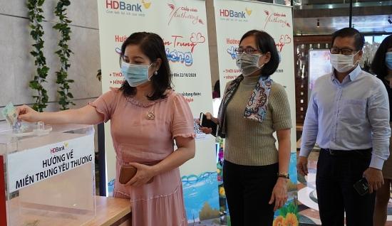 HDBank hướng về miền Trung yêu thương