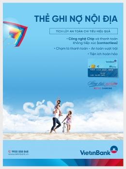 Chip Contactless - Công nghệ thanh toán không chạm của ATM E-Partner VietinBank