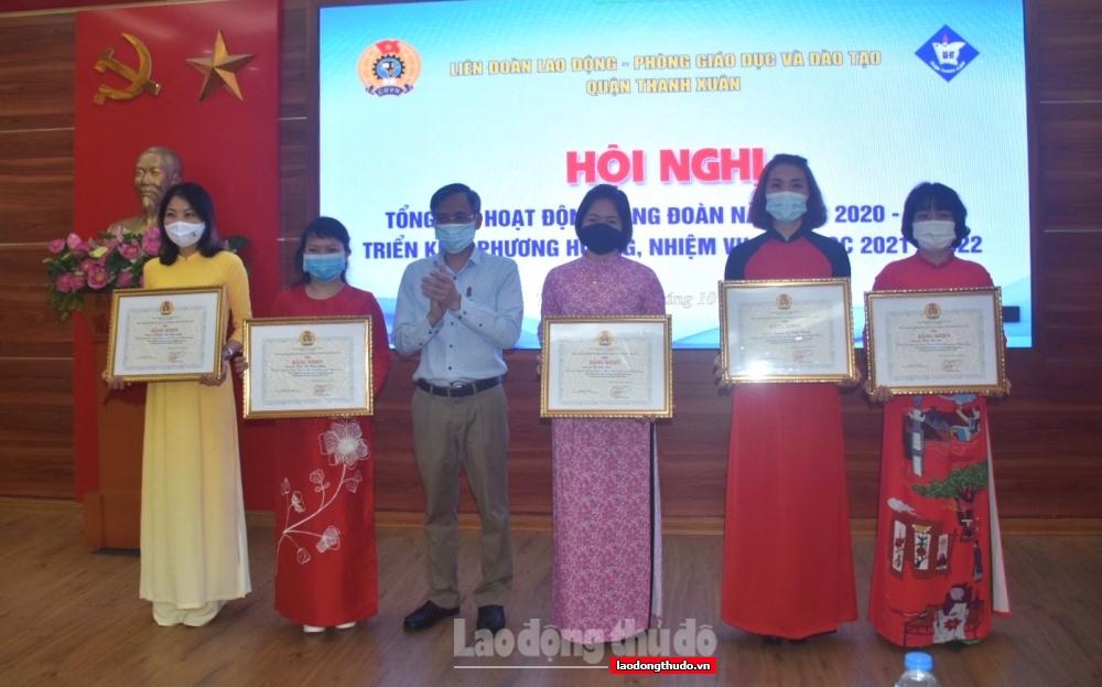 Quận Thanh Xuân: Chú trọng nâng cao chất lượng hoạt động CĐCS các trường học