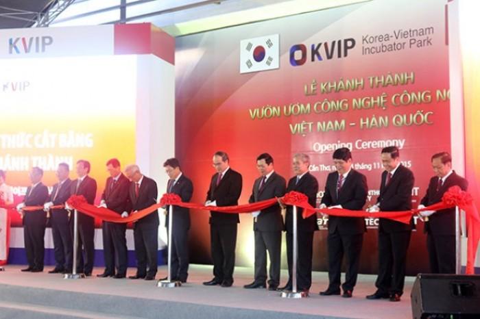 Khánh thành vườn ươm công nghệ công nghiệp Việt – Hàn