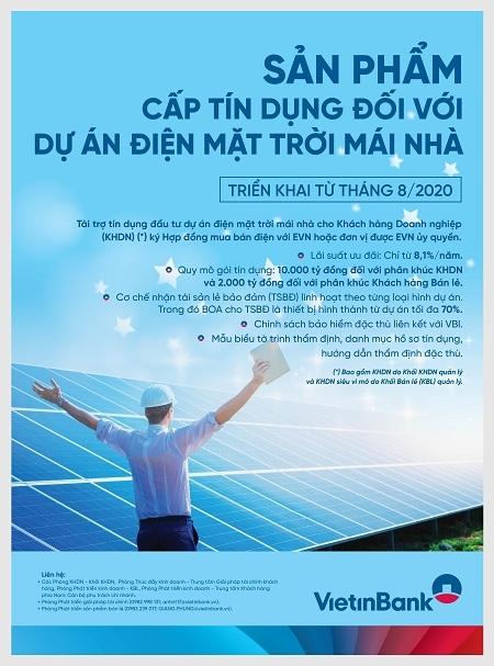 VietinBank thúc đẩy tín dụng xanh trong phát triển bền vững