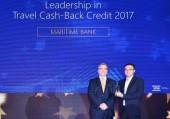 Maritime Bank nhận giải Thẻ tín dụng du lịch hoàn tiền tốt nhất