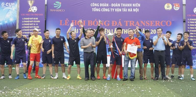 Sôi động giải bóng đá Transerco lần thứ XII năm 2018