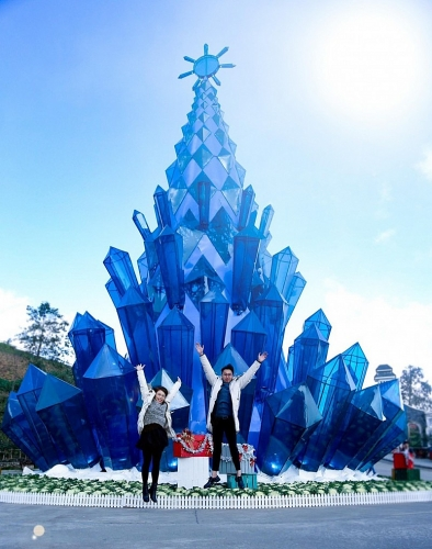 Ngắm xứ sở pha lê đẹp ngất ngây tại Sun World Fansipan Legend