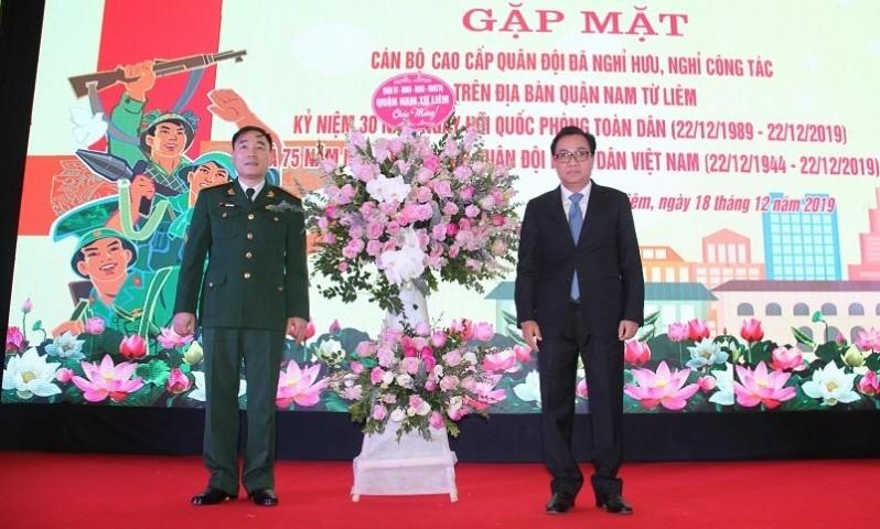Gặp mặt tri ân các cán bộ cao cấp trong Quân đội đã nghỉ hưu