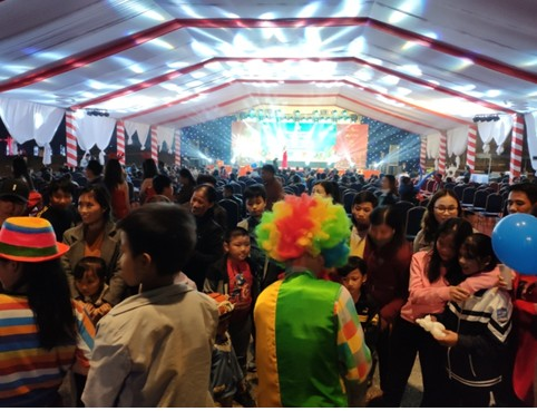 Lễ hội Giáng sinh đầu tiên tại TNR Stars Diễn Châu