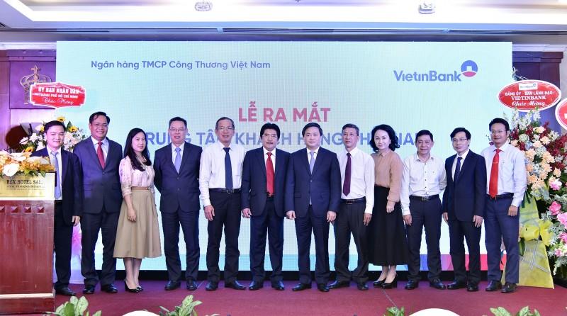 VietinBank ra mắt Trung tâm Khách hàng phía Nam