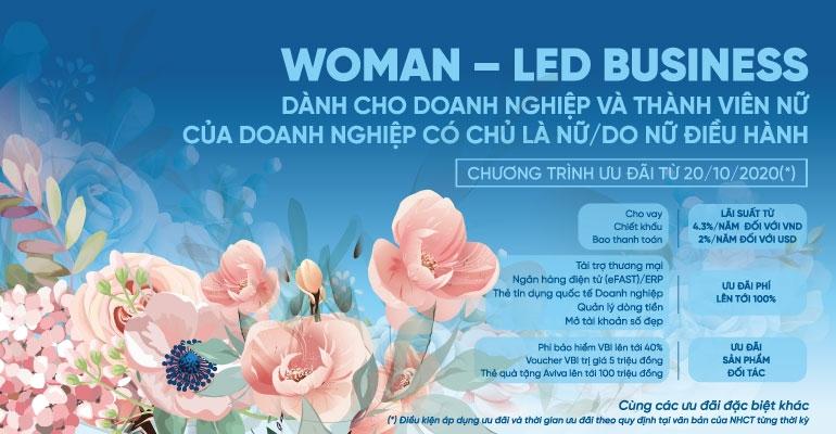 VietinBank ưu đãi đặc biệt dành tặng doanh nhân nữ
