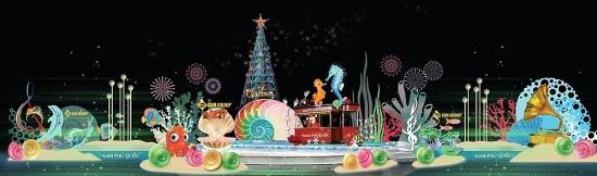 Không khí Giáng sinh ngập tràn Nam đảo Ngọc, du khách lưu luyến không rời