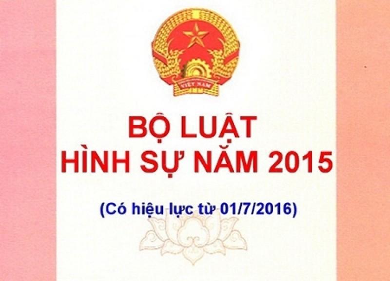 Thủ tướng chỉ thị triển khai thi hành Bộ luật Hình sự năm 2015