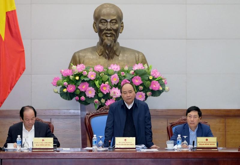 Thủ tướng chủ trì cuộc họp với Ủy ban Hợp tác Việt Nam – Lào