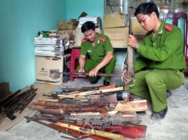 Tăng cường quản lý vũ khí, vật liệu nổ