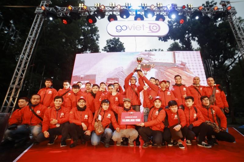 Hơn 3.000 đối tác tài xế tham gia sự kiện tri ân của GO-VIET tại Hà Nội
