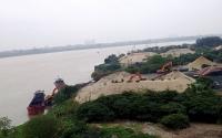 Tăng cường kiểm tra xử lý hoạt động khai thác cát sỏi trái phép