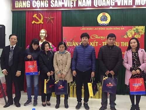 ldld quan dong da trao gan 300 suat qua cho cnvcld dip tet nguyen dan ky hoi 2019