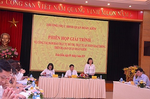 HĐND quận Hoàn Kiếm chú trọng đổi mới công tác giám sát