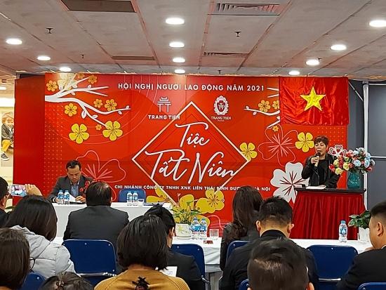 Hội nghị người lao động Công ty TNHH XNK Liên Thái Bình Dương