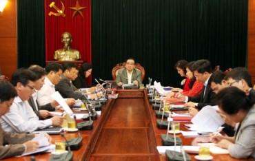 Hà Nội thực hiện chủ động, bài bản Nghị quyết 39-NQ/TW
