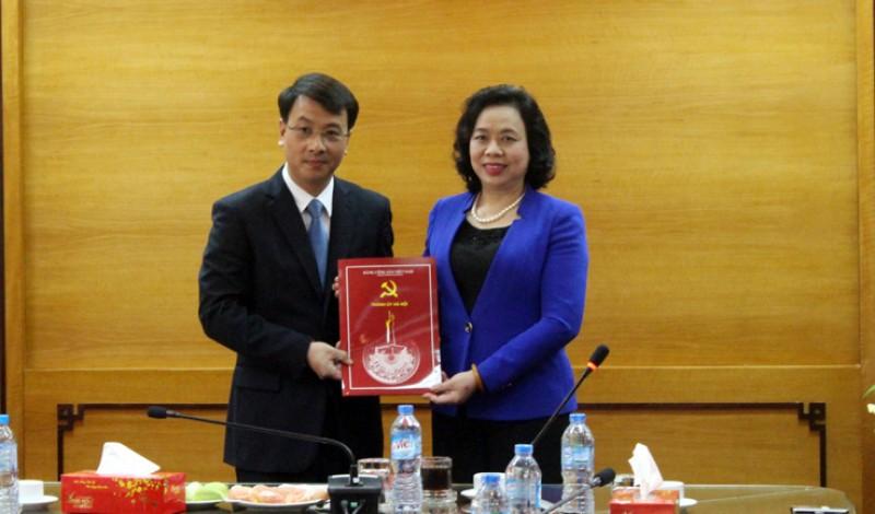Đồng chí Trần Đình Cảnh giữ chức Phó Ban Tổ chức Thành ủy