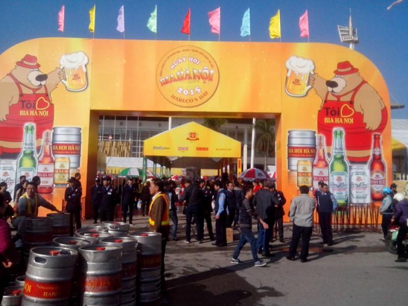 Bia Hà Nội: Đảm bảo hàng hóa phục vụ Tết Mậu Tuất 2018