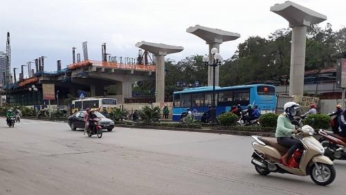 Điều chỉnh tổ chức giao thông trên đường Kim Mã