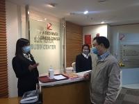 LĐLĐ quận Hoàn Kiếm kiểm tra công tác phòng, chống dịch Covid-19 tại công đoàn cơ sở