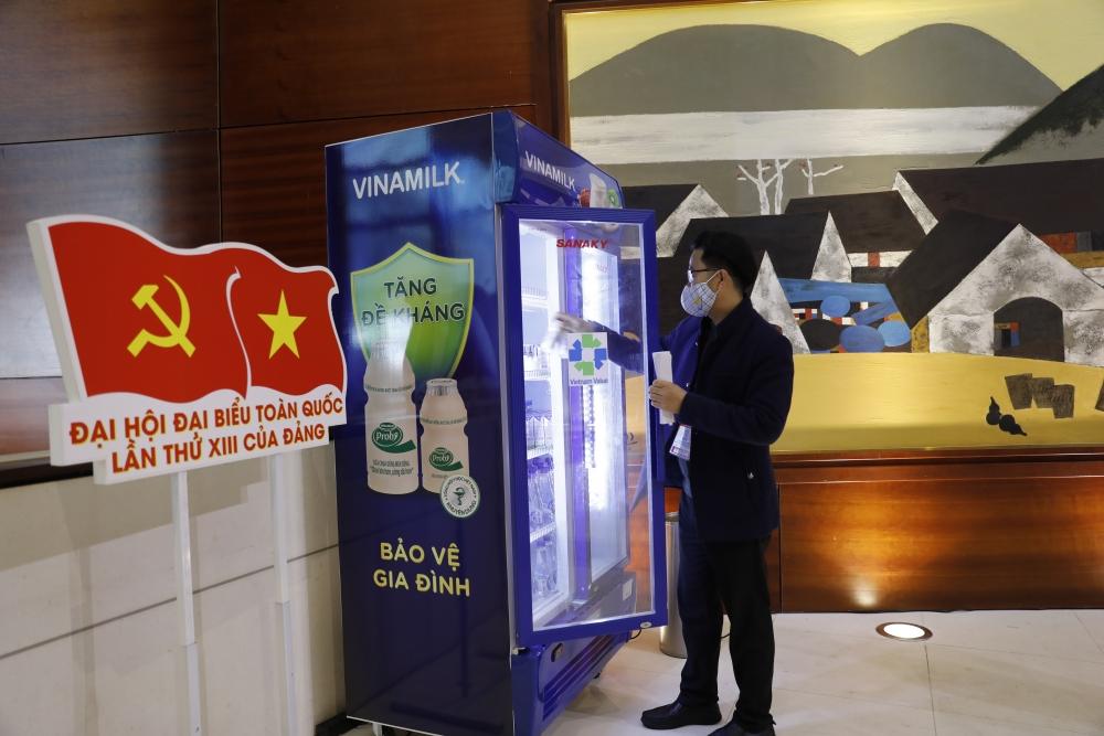 Sản phẩm Vinamilk vinh dự được chọn phục vụ cho các sự kiện lớn của quốc gia