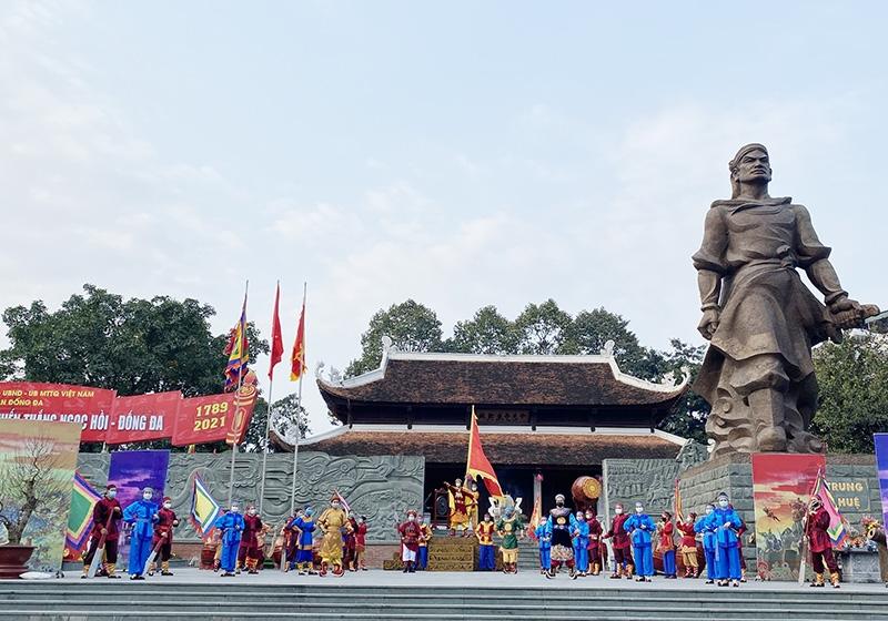 Quận Đống Đa dừng tổ chức Lễ hội kỷ niệm 232 năm Chiến thắng Ngọc Hồi – Đống Đa
