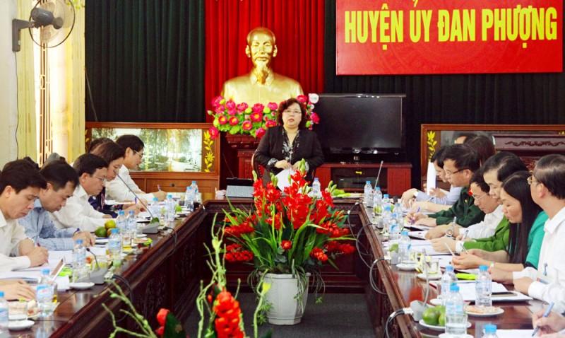 Chủ tịch HĐND TP Nguyễn Thị Bích Ngọc:Cải cách hành chính phải đồng bộ, thống nhất